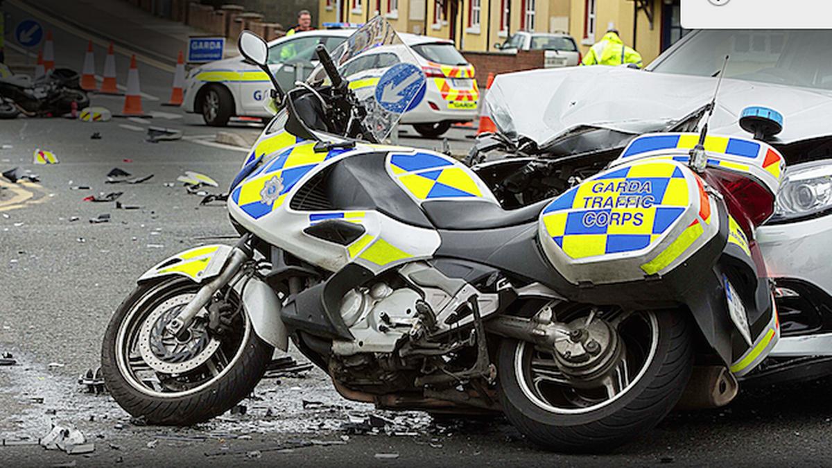 Garda Bike Crash Gardai Compensation